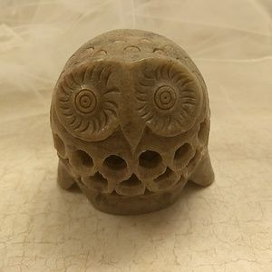World Market Owl within Owl paper weight